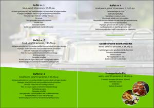 Catering folder